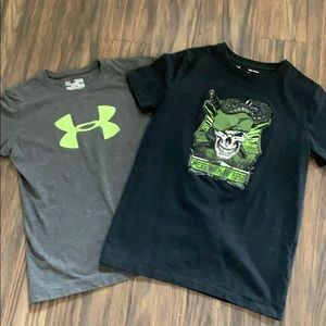 Under armour tshirts size M